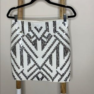 Express Aztec mini skirt